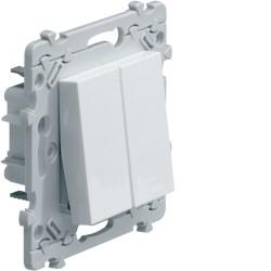 Double Interrupteur Va-et-Vient (VV) Hager Essensya