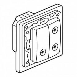 Commande individuel volets Roulants Radio pour centralisation Legrand Niloe Zigbee Pur Blanc