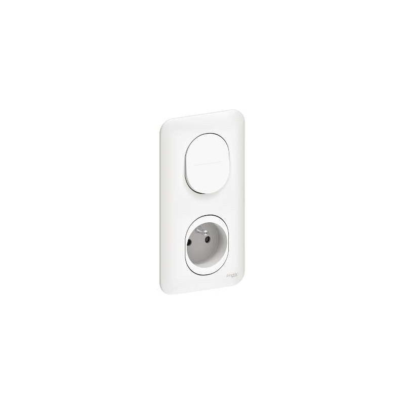va et vient prise 2p t vertical interrupteur prise de courant. Black Bedroom Furniture Sets. Home Design Ideas
