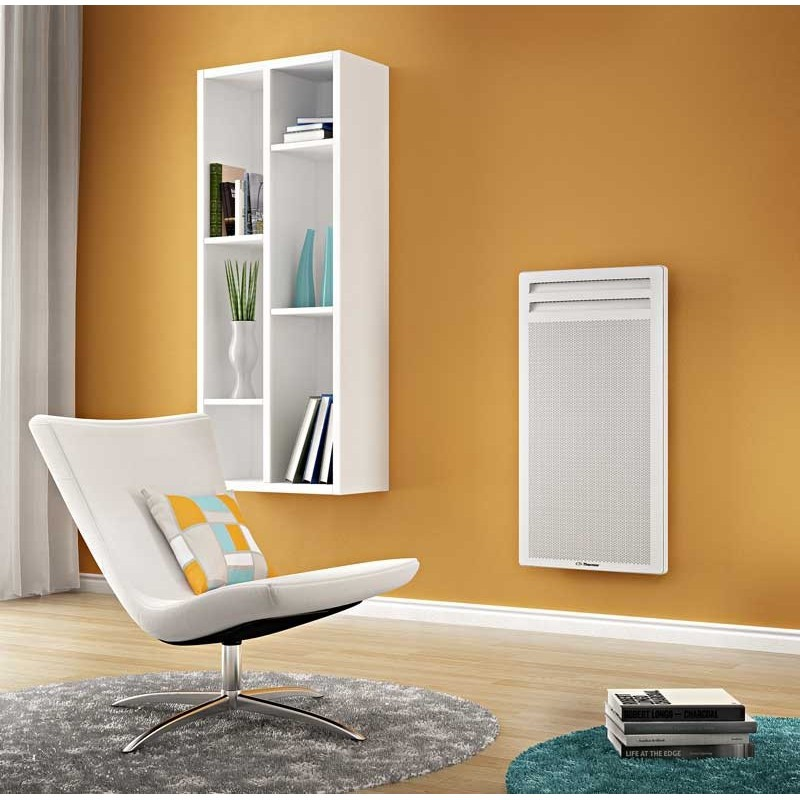 panneau rayonnant 1000w vertical blanc thermor amadeus 2 423531. Black Bedroom Furniture Sets. Home Design Ideas