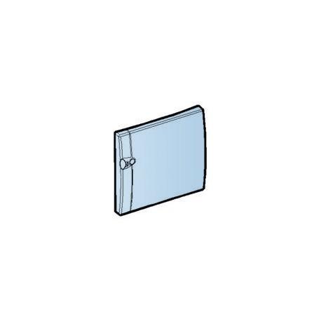 Porte transparente opale 1 rangee Schneider Merlin Gerin