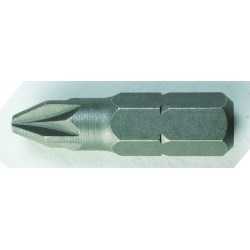 EMBOUTS DE VISSAGE PZ1 25 MM LOT DE 5 - Bizline