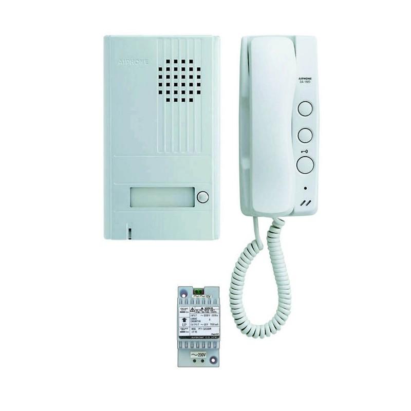aiphone kit portier audio 2 fils int gral da1as. Black Bedroom Furniture Sets. Home Design Ideas