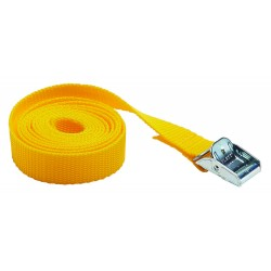 SANGLE 1,5M X 25MM JAUNE - Bizline