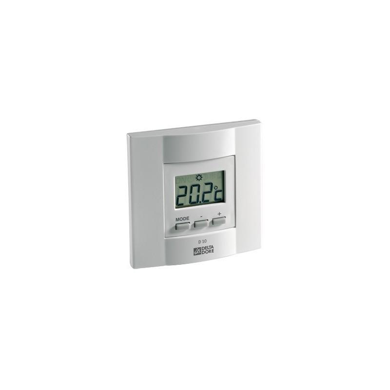 Delta dore diana d10 thermostat lectronique pour chauffage - Delta dore chauffage ...