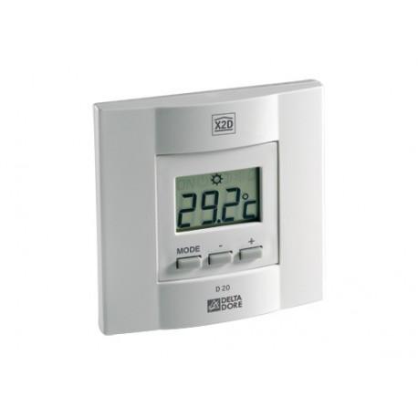 Thermostat radio electronique chauffage Delta Dore diana d10