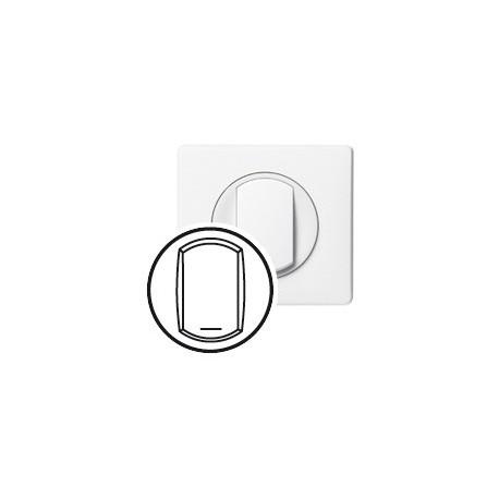 Poussoir inverseur porte etiquette Legrand celiane complet