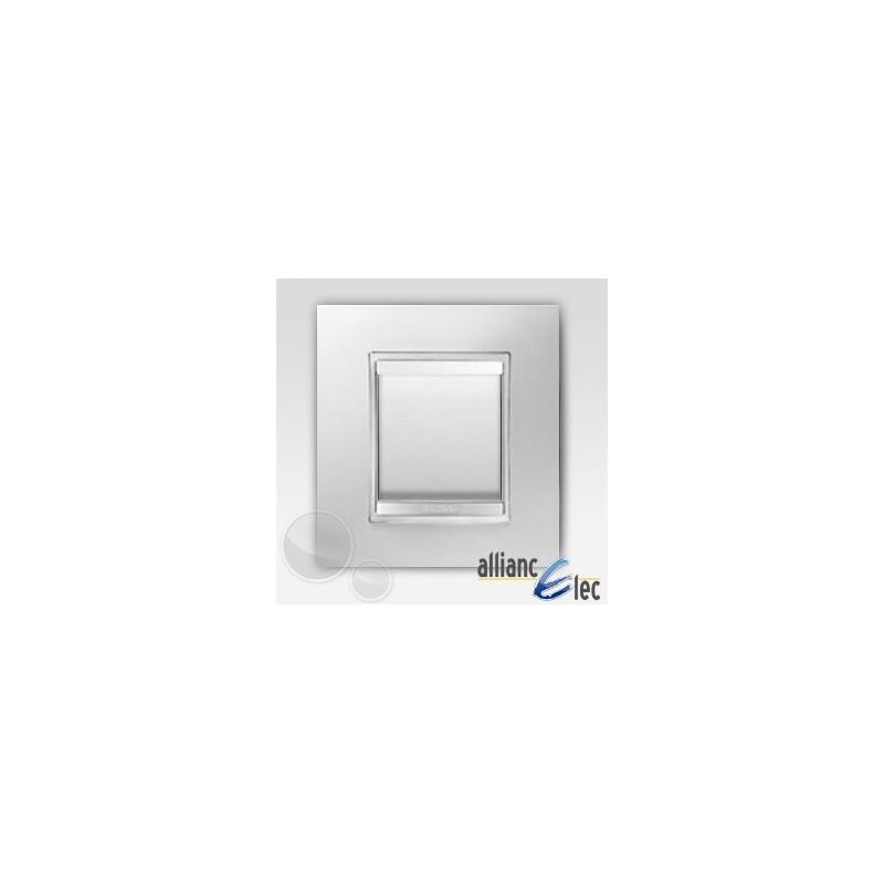 gewiss chorus interrupteur lux blanc complet support. Black Bedroom Furniture Sets. Home Design Ideas