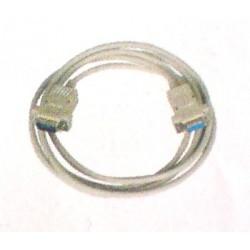 Cable de connextion rs 232 male femelle domotique Moeller