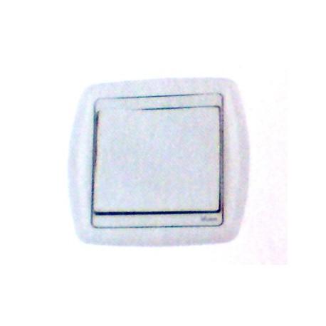 Bouton poussoir simple rf un contact blanc domotique Moeller