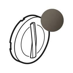 ENJOLIVEUR SIMPLE DOIGT SLIM GRAPHITE - Legrand
