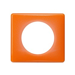 PLAQUE 1 POSTE ORANGE 70S - Legrand