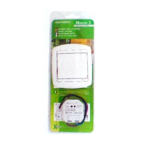 Kit lumiere poussoir rf actionneur variateur domotique Moeller