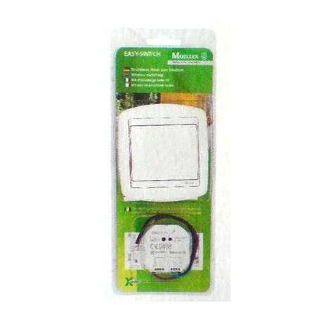 Kit luminere poussoir rf et actionneur interrupteur domotique Moeller