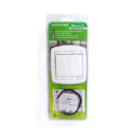 Kit volet bouton poussoir rf et actionneur volet domotique Moeller