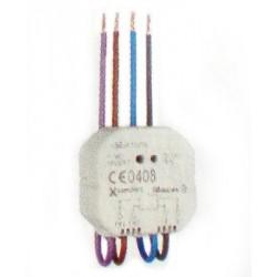Emetteur pour interrupteur simple et double domotique Moeller