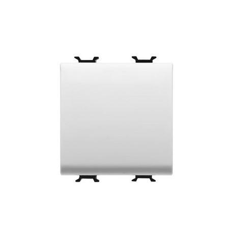 Bouton poussoir 2m connexion rapide blanc Gewiss chorus