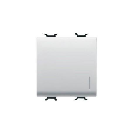 Interrupteur 2m lumineux connexion rapide blanc Gewiss chorus