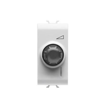 Variateur electronique rotatif blanc Gewiss chorus