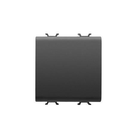 Bouton poussoir 2m connexion rapide noir Gewiss chorus