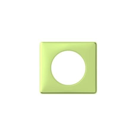 Plaque anis 1 poste Legrand celiane avec support a vis
