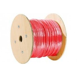 Cable SYT ROUGE 1 Paire AWG20 pour alarme incendie cable