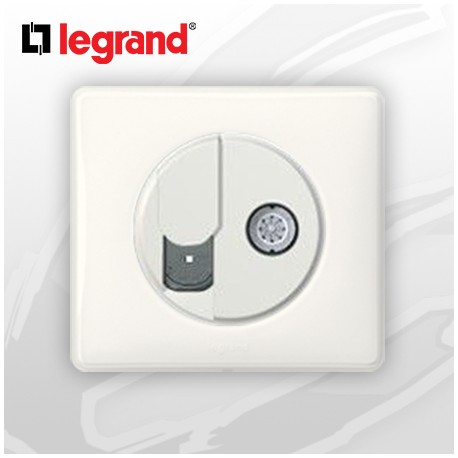 legrand c liane complet memories prise rj45 cat 6 tv blanc. Black Bedroom Furniture Sets. Home Design Ideas