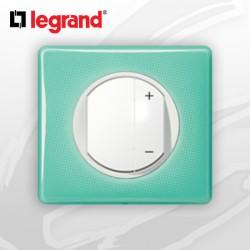 Interrupteur Variateur complet Legrand Celiane 50's Turquoise (400W)