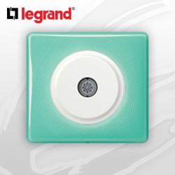 Prise TV simple complete Legrand Celiane 50's Turquoise