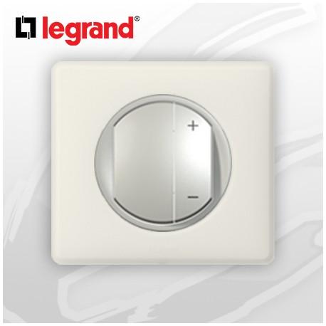legrand c liane complet poudr interrupteur variateur craie 400w. Black Bedroom Furniture Sets. Home Design Ideas