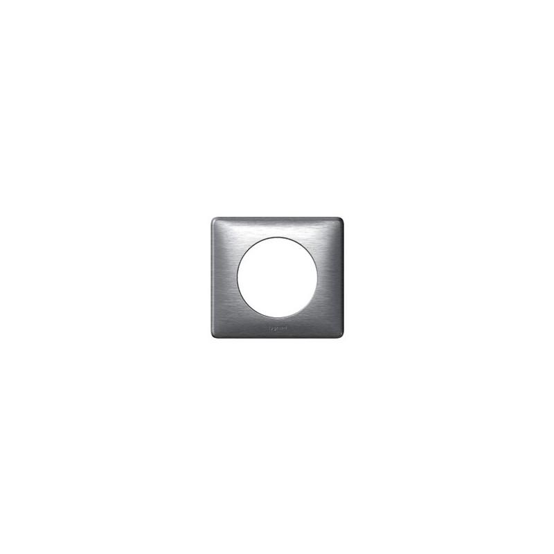 legrand celiane plaque aluminium 1 poste support 68921. Black Bedroom Furniture Sets. Home Design Ideas