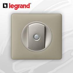 interrupteur Va-et-vient Intuition complet Legrand Celiane Argile Poudré (doigt large)