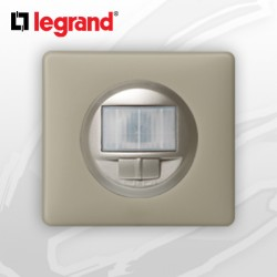 Interrupteur automatique complet Ecodétecteur Legrand Celiane Argile Poudré