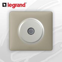 Prise TV simple complete Legrand Celiane Argile Poudré
