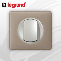 Poussoir complet Legrand Celiane Grès Poudré (doigt large)