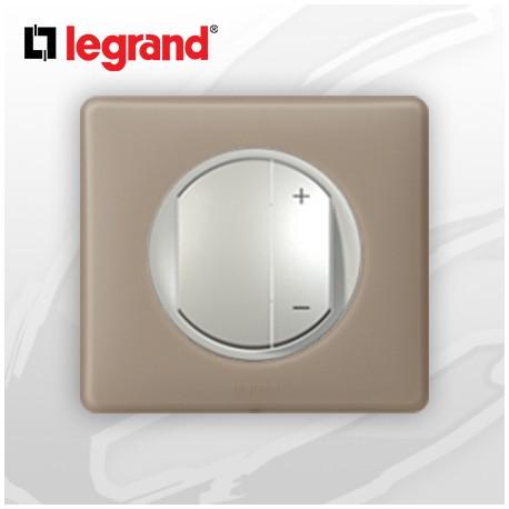 legrand c liane complet poudr interrupteur variateur gr s 400w. Black Bedroom Furniture Sets. Home Design Ideas