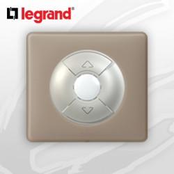 Interrupteur Volet-Rolant complet Legrand Celiane Grès Poudré
