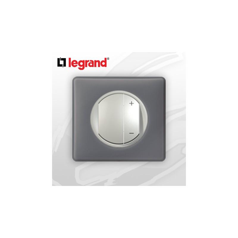 legrand c liane complet poudr interrupteur variateur schiste 400w. Black Bedroom Furniture Sets. Home Design Ideas