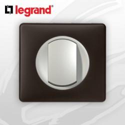 Poussoir complet Legrand Celiane Basalte Poudré (doigt large)