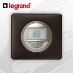 Interrupteur automatique complet Ecodétecteur Legrand Celiane Basalte Poudré