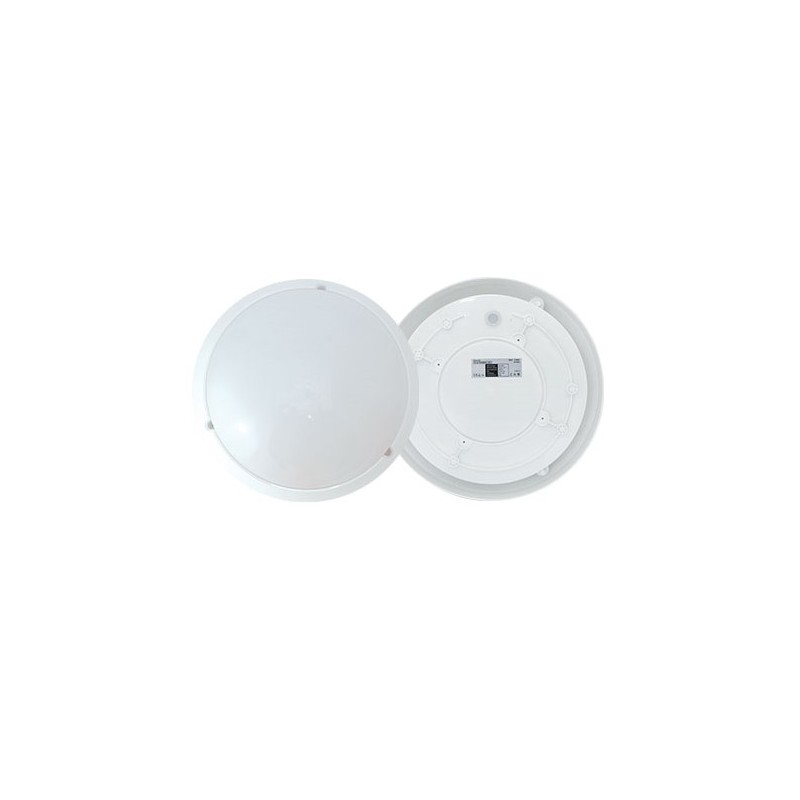 plafonnier led blanc avec detecteur ip65 en saillie 18w 5 Bon Marché Plafonnier Led Blanc Zzt4
