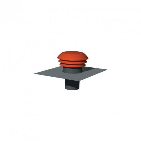 chapeau toiture ronde rouge atlantic d125. Black Bedroom Furniture Sets. Home Design Ideas