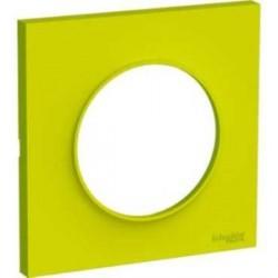 Plaque Odace Styl Vert Chartreuse 1 poste Schneider