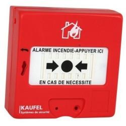 Déclencheur manuel Kaufel alarme rouge Type 4