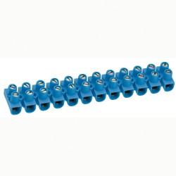 barrette de connexion nylbloc cap 6 mm bleu