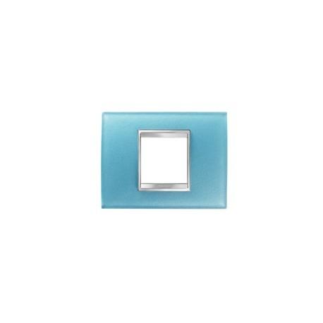 Plaque lux rectangulaire verre aigue marine 2m Gewiss chorus