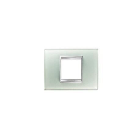 Plaque lux rectangulaire verre glace 2m Gewiss chorus