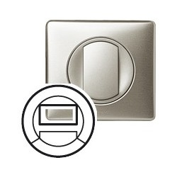 Interrupteur automatique de balisage titane Legrand celiane