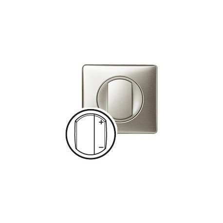 Interrupteur variateur 600w titane Legrand celiane