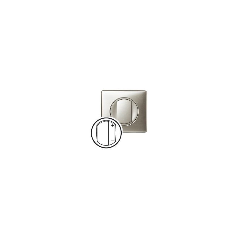 Legrand celiane interrupteur variateur 600w titane - Interrupteur legrand celiane ...